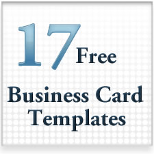 17 free business cards.